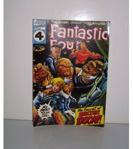 CARTE POSTALE MARVEL FANTASTIC FOUR