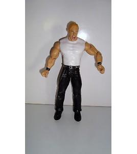 FIGURINE OFFICIELLE JAKKS PACIFIC WWE 2001 CATCHEUR (17x9cm)