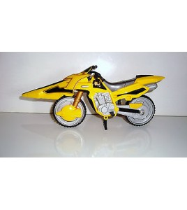 MOTO SENTEI POWER RANGERS FORCE JAUNE BANDAI 2005 (10x23cm)