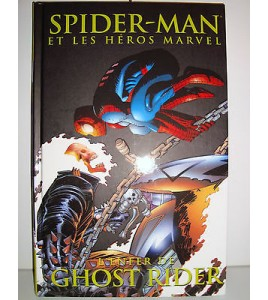 BD SPIDERMAN ET LES HEROS MARVEL - L'ENFER DE GHOST RIDER PANINI COMICS