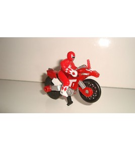FIGURINE SENTEI MOTO POWER RANGER FORCE ROUGE (5x7cm)