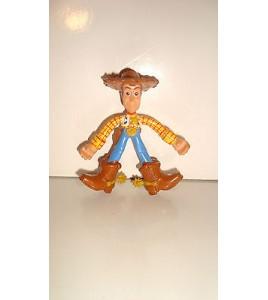 FIGURINE DISNEY PIXAR 2002 TOY STORY  WOODY LE COW BOY (8x7cm)