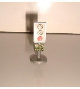 PANNEAU MICROMACHINES MICRO MACHINE FEU TRICOLORE (3x1cm)