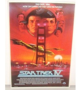 CARTE POSTALE STAR TREK IV  THE VOYAGE HOME