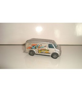 VEHICULE CORGI JUNIORS U.S VAN SUPERMAN MADE IN GT BRITAIN (6,5x3cm)