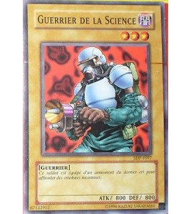 CARTE YU-GI-OH!  GUERRIER DE LA SCIENCE SDP-F097