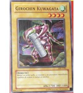 CARTE YU-GI-OH!  GIROCHIN KUWAGATA SDP-F085