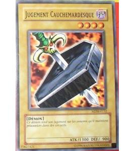 CARTE YU-GI-OH!  JUGEMENT CAUCHEMARDESQUE MDM-F112