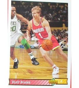 CARTE  NBA BASKET BALL 1993  PLAYER CARDS SCOTT BROOKS (163)