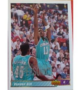 CARTE  NBA BASKET BALL 1993  PLAYER CARDS KENDALL GILL (110)