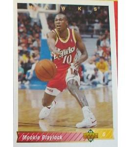 CARTE  NBA BASKET BALL 1993  PLAYER CARDS MOOKIE BLAYLOCK (92)