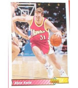 CARTE  NBA BASKET BALL 1993  PLAYER CARDS ADAM KEEFE (95)