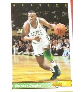 CARTE  NBA BASKET BALL 1993  PLAYER CARDS SHERMAN DOUGLAS (101)