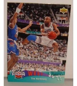 CARTE DE COLLECTION NBA BASKET BALL 1993  WEST ALL STARS TIM HARDAWAY (20)