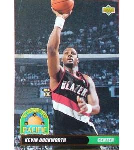 CARTE DE COLLECTION NBA BASKET BALL 1993  ALL DIVISION TEAM KEVIN DUCKWORTH (50)