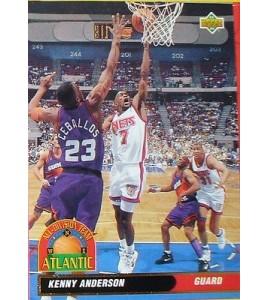 CARTE DE COLLECTION NBA BASKET BALL 1993  ALL DIVISION TEAM KENNY ANDERSON (39)
