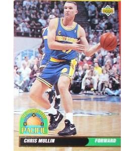 CARTE DE COLLECTION NBA BASKET BALL 1993  ALL DIVISION TEAM CHRIS MULLIN (51)