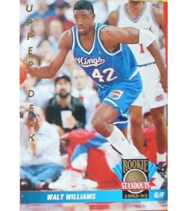 CARTE DE COLLECTION NBA BASKET BALL 1993  ROOKIES STANDOUTS WALT WILLIAMS (72)