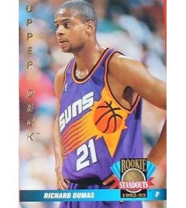 CARTE DE COLLECTION NBA BASKET BALL 1993  ROOKIES STANDOUTS RICHARD DUMAS (71)