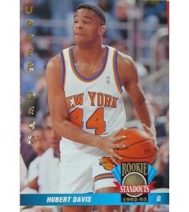 CARTE DE COLLECTION NBA BASKET BALL 1993  ROOKIES STANDOUTS HUBERT DAVIS (68)
