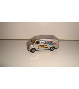 ANCIEN VEHICULE CORGI JUNIORS CHEVROLET VAN SUPERMAN (6x3cm)