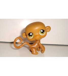 FIGURINE PETSHOP LITTLEST PET SHOP SINGE MONKEY N°5