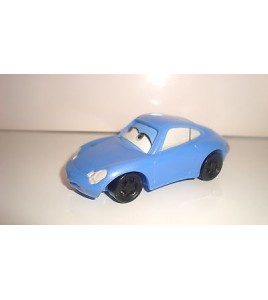 VEHICULE DISNEY CARS FLASH MAC QUEEN SALLY PORSCHE 911 PLASTIQUE MACDO (9x4cm)
