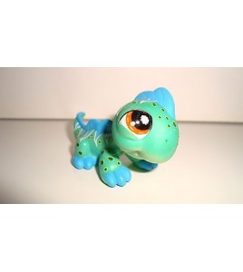 FIGURINE PETSHOP LITTLEST PET SHOP IGUANE MULTI COLOR