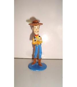 FIGURINE DISNEY PIXAR TOY STORY  WOODY LE COW BOY HASBRO 2001 (8x3,5cm)