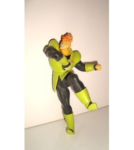 FIGURINE DRAGON BALL Z ANDROID C 16 RUBAN ROUGE N°25 (13x7cm)