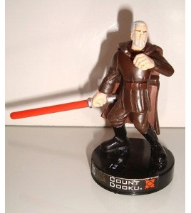 FIGURINE STAR WARS COUNT DOOKU N°2 (8x10cm)