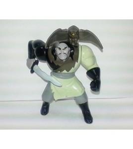 ancienne figurine walt disney macdo  - Mulan Shan-Yu