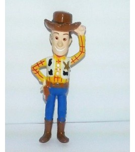 MINI FIGURINE DISNEY PIXAR TOY STORY - WOODY LE COW BOY