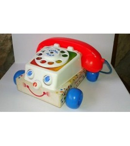 Fisher-Price chatter téléphone 1961 made in england Toy Story