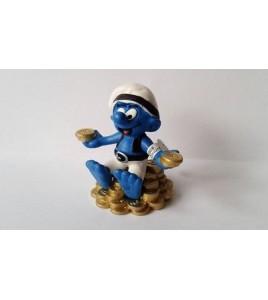 Figurine - Schtroumpfs - Pirates - Schtroumpf Chasseur de Trésor - Schleich