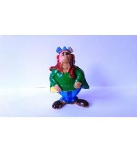 figurine série astérix huilor 1967 - abraracourcix BE