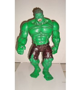 TRES GRANDE FIGURINE THE HULK MOVIE 2002 AVENGERS ARTICULE SONORE (33x20cm)