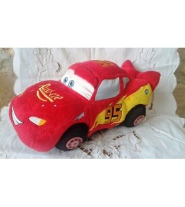 Peluche plush voiture rouge Cars McQueen DISNEY 32 cm