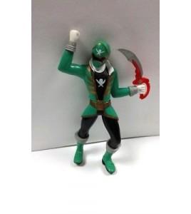 figurine sentei - power rangers vert bandai 2014
