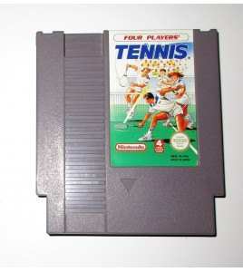 Four Players' Tennis sur Nes