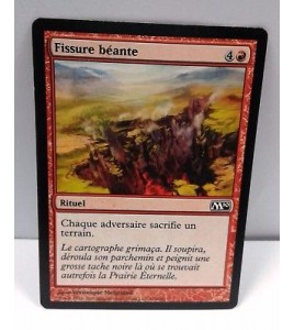 MTG - Fissure Beante NM French M10