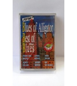CASSETTE BEST OF THE BLUES RFM TAPE