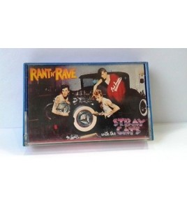 STRAY CATS cassette K7 tape RANT 'N' RAVE WITH