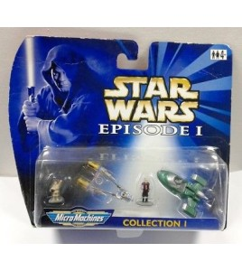 Star WARS EPISODE I MICRO MACHINES COLLECTION I (n ° 1)