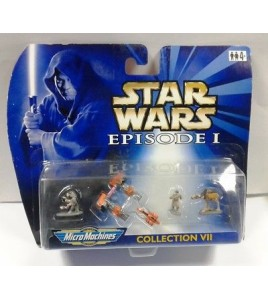 STAR WARS. Episode 1. MicroMachines Collection VII. Hasbro 1999. sous blister