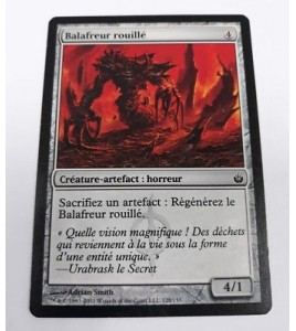 Balafreur rouillé Mirrodin Assiégé n°128 (Français) MTG Magic NM