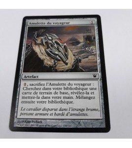 Carte Magic MTG Amulette du Voyageur 234-264 Innistrad