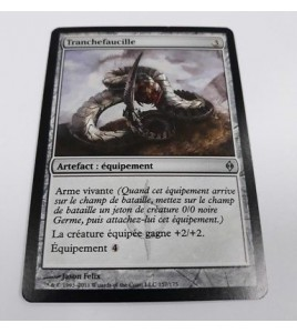 carte magic the gathering mtg - tranchefaucille - nouvelle phyrexia - unco