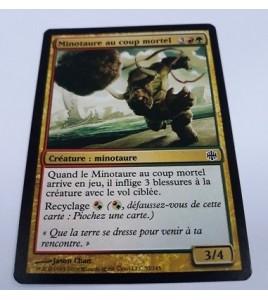 Minotaure au coup mortel La Renaissance d'Alara n°52 (Français) MTG Magic NM