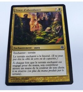 Trace d'abondance La Renaissance d'Alara n°142 (Français) MTG Magic NM